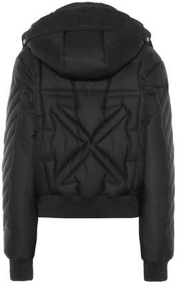Off-White Off White Padded bomber jacket