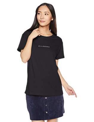 Billabong (ビラボン) - [ビラボン] [レディース] 半袖 プリント Tシャツ (ベーシック)[ AI014-202 / SS Print TEE ] サーフ かわいい BLK_ブラック US L (日本サイズL相当)