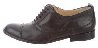 By Malene Birger Cap-Toe Leather Oxfords