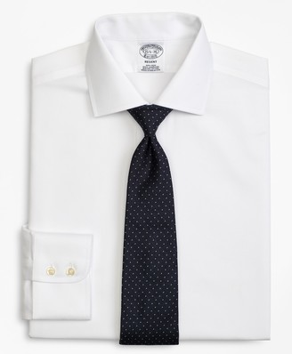Brooks Brothers Regent Fitted Dress Shirt, Non-Iron Rope Stripe