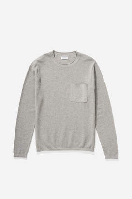 Saturdays NYC Kevin Tuckstitch Sweater