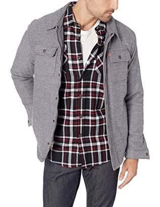 Levi's Men's Sherpa Lined Soft Shirt Jacket
