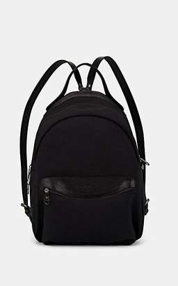 Il Bisonte Men's Canvas & Leather Zip-Around Backpack - Black