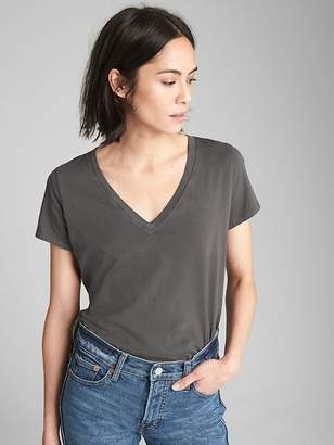 Gap Vintage V-Neck T-Shirt