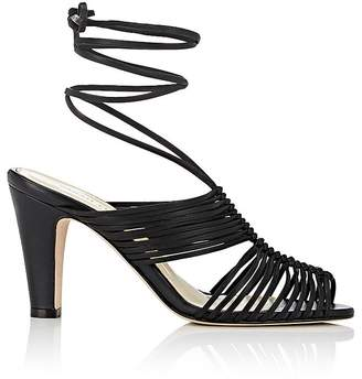 Sarah Flint WOMEN'S IVY LEATHER ANKLE-TIE SANDALS