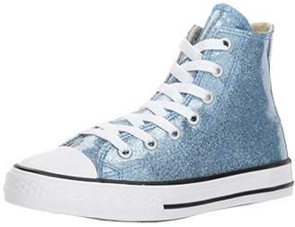 Converse Girls' Chuck Taylor All Star Glitter High Top Sneaker