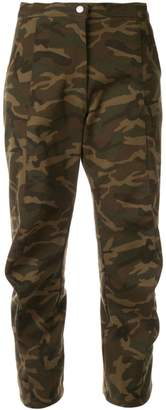 Zambesi cropped camo trousers
