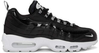 Nike Black and White AirMax 95 Premium Sneakers