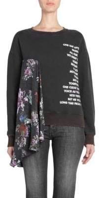 Each X Other Mixed Media Sweatshirt