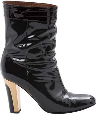 Barbara Bui Patent leather ankle boots