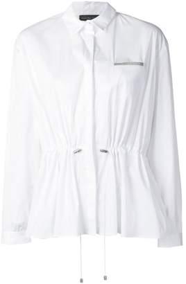 Fabiana Filippi drawstring waist shirt