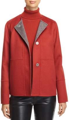 Lafayette 148 New York Reversible Wool & Cashmere Jacket