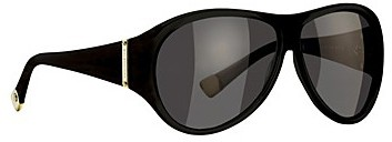 Balenciaga Oversized oval sunglasses