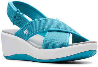 Clarks Cloudsteppers by Step Cali Cove Wedge Sandal - Women's
