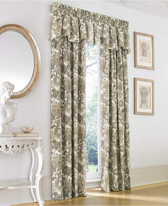 "J Queen New York Valdosta Cotton 50"" x 95"" Rod Pocket Curtain Panel"
