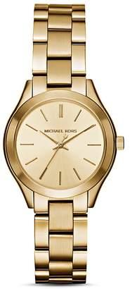 Michael Kors Mini Slim Runway Watch, 33mm $195 thestylecure.com