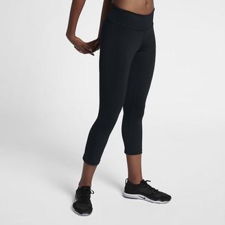 Nike Power Hyper Women's Mid-Rise Training Crops