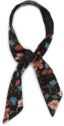 BP Floral Print Skinny Scarf