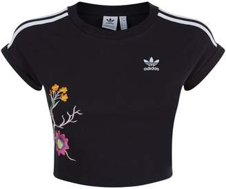 adidas Graphic Cropped T-Shirt