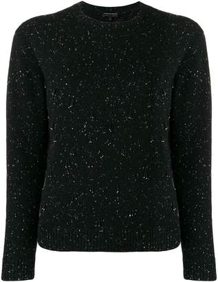 Cashmere In Love cashmere flecked beaded jumper