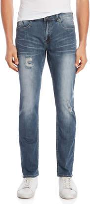 Buffalo David Bitton Evan X Slim Straight Jeans
