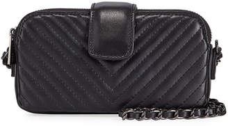 Jagger Kc Mia Quilted XS Wallet Crossbody Bag