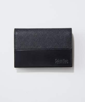 Calvin Klein (カルバン クライン) - Calvin Klein men 【特集掲載】アロイ小物 名刺入れ(C)FDB