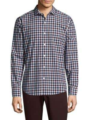 Bonobos Plaid Slim-Fit Cotton Button-Down Shirt