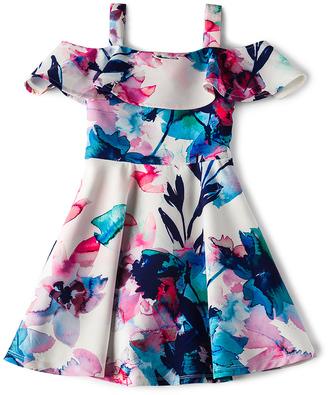 Bardot Junior Arabella Cold Shoulder Dress $80 thestylecure.com