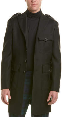 DSQUARED2 Wool & Silk-Blend Coat