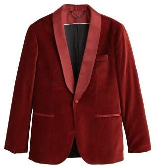 Mango man MANGO MAN Slim-fit velvet suit blazer