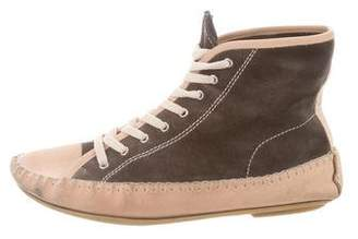 See by Chloe Suede High-Top Sneakers