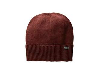 The North Face TNF Cuffed Beanie (Barolo Red/Sequoia Red