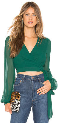 Privacy Please Avery Wrap Top