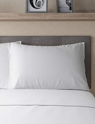 Marks and Spencer Jersey Standard Pillowcase Pair