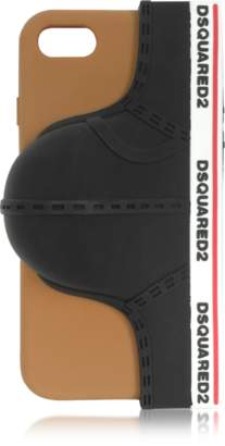 DSQUARED2 Black Silicone Signature iPhone 7 Cover w/Briefs
