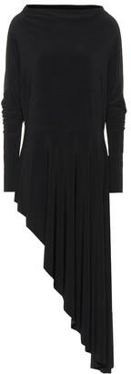 Norma Kamali One-shoulder midi dress