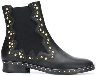 Marc Ellis studded chelsea boots