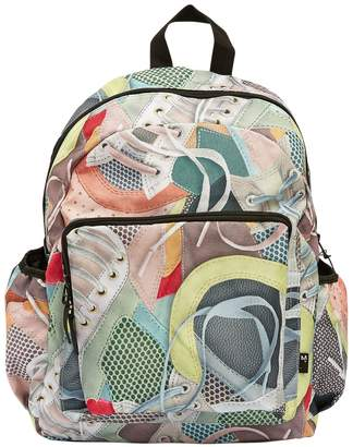 Molo Sneakers Printed Canvas Backpack