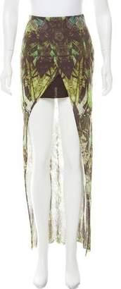 Helmut Lang Printed Maxi Skirt