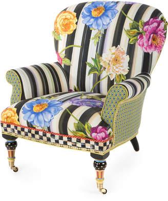 Mackenzie Childs Cutting Garden Accent Chair