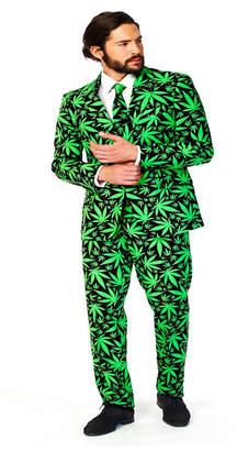 OppoSuits Men Cannaboss Plant Suit