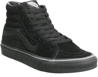 85a6a91f58 Vans Sk8 Hi Trainers Pirate Black Frost Grey Exclusive