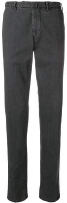 Dell'oglio stretch fit tapered trousers