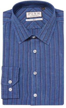 Thomas Pink Erlan Stripe Dress Shirt