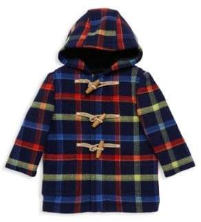 Burberry Baby Boy's& Little Boy's Brogan Plaid Wool Coat