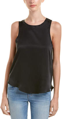 Chaser T-Back Silk Top