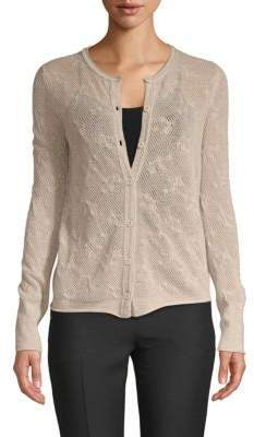 Inhabit Buttoned Cashmere Cardigan