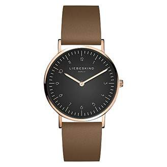 Liebeskind Berlin Womens Analogue Quartz Watch with Leather Strap LT-0198-LQ