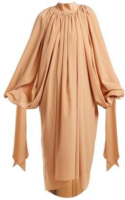 A.W.A.K.E. Mode A.w.a.k.e. Mode - Gathered Crepe Dress - Womens - Nude